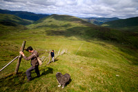 National Trust for Scotland rangers working on the Ben Lawers range