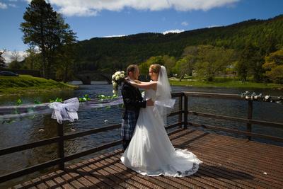 Wedding photos Victoria & Kris Clarke, Kenmore Hotel, Loch Tay, Perthshire